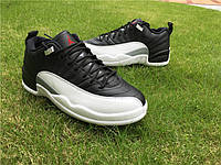 Кроссовки Nike Air Jordan 12 Retro Low Playoff реплика, фото 1