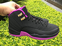 Кроссовки Nike Air Jordan 12 Retro GS Hyper Violet реплика, фото 1