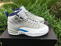 Кроссовки Nike Air Jordan 12 Retro UNC реплика, фото 1