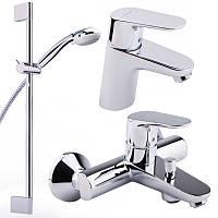 Смеситель для умывальника Hansgrohe Focus E2 31934000 комплект смесители для умывальника, ванны, стойка