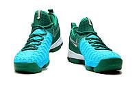Кроссовки Nike KD 9 Nike KD 9 Green/Light Blue-Silver реплика