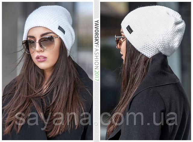 мега стильная женская шапка