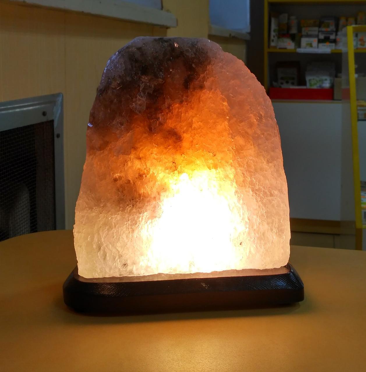 Соляна лампа Скеля 4-5 кг.