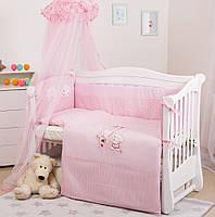 Детская постель Twins Evolution А-004 Котик и собачка (8 элементов)