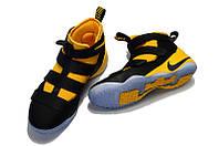 Кроссовки Nike Lebron 11 Black/Yellow