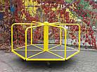 Дитяча Карусель, шестикутна. Для катання стоячи., фото 3