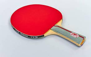 Ракетка для настольного тенниса 1 штука в чехле MK 2STAR, фото 2