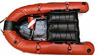 Плот-буй для подводной охоты KatranGun Плотик (от LionFish; 120 х 78 х 15 см); красный
