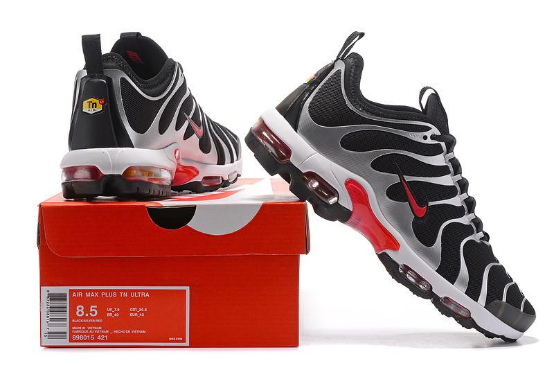 181984051aff8a Кроссовки Nike AIR MAX PLUS Tn ULTRA BLACK/SILVER/RED 898015 421 найк аир