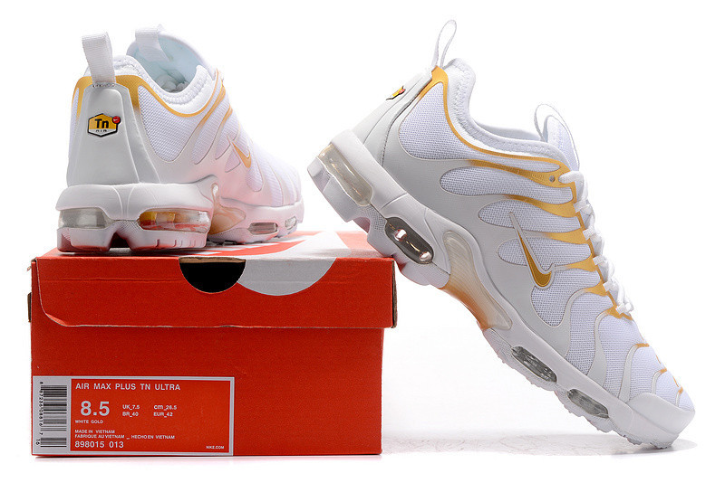 a44f9a74102ce4 Кроссовки Nike AIR MAX PLUS Tn ULTRA WHITE GOLD 898015 013 найк аир макс  мужские женские