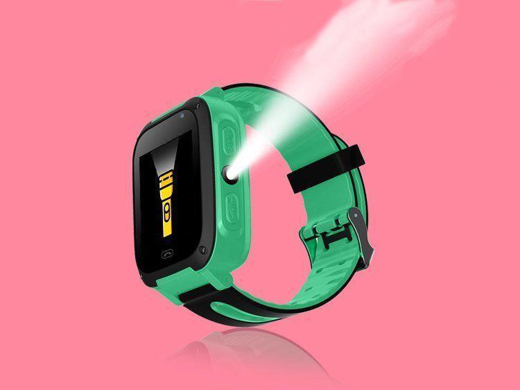 Детские Смарт часы с GPS T12 Зеленые Хит!