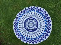 Пляжный коврик Мандала 150 см top-171
