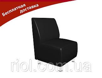 Крісло чорне