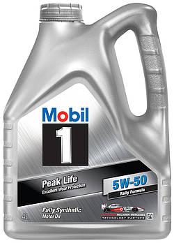 Моторное масло Mobil 1 5W-50 4л
