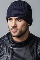 Мужская вязаная шапка с отворотом Caskona ROMIRO Flip