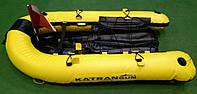 Плот-буй для подводной охоты KatranGun Плотик (от LionFish; 120 х 78 х 15 см); жёлтый