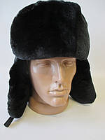 Зимние шапки ушанки на меху.