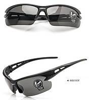 Мужские Солнцезащитные очки спортивные черные