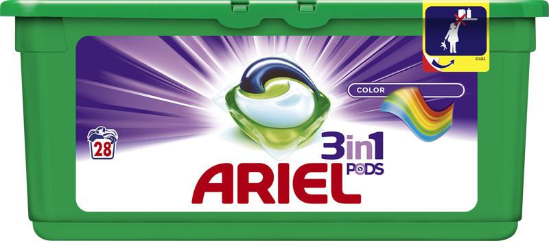 Капсулы Ariel  color Pods 28шт