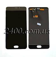 Сенсор +дисплей - модуль Meizu M5 Note черный