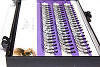 Профессиональные натуральные пучки ресниц BLING 10 мм - 60 шт.