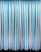 Тюль Домиан бирюза, (3м ширина), фото 2