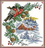 Заготовка картини для вишивки бісером Снігурі
