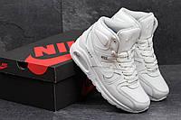Подростковые зимние кроссовки Nike Air Max 90 белые 3683