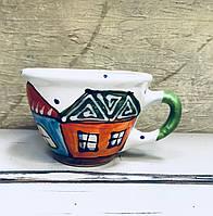 Чашка керамическая 100% ручная работа 0,5 л (59)