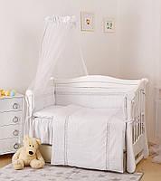 Детская постель Twins Magic sleep Ajour белая 7 эл М-006