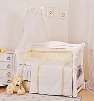 Детская постель Twins Magic sleep Ajour белая 7 эл М-007