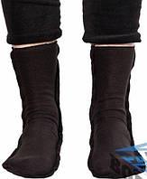 Носки зимние флисовые, черные