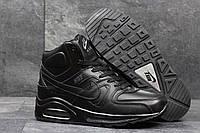Подростковые зимние кроссовки Nike Air Max 90 черный 3684