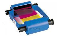 Полноцветный красящий риббон (YMCKO) для принтеров Zebra Р110i, Р120i