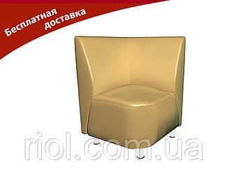 Крісло-кут бежевий