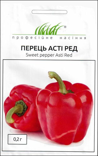 Семена перца Асти Ред 0,2 г, Anseme