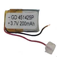 Литий-полимерный аккумулятор 451425 200mA
