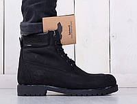 Зимние мужские ботинки Timberland Classіc Black Boots
