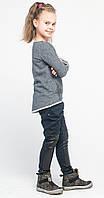 Джеггинсы ботфорты для девочек джинс с матрицей, фото 1