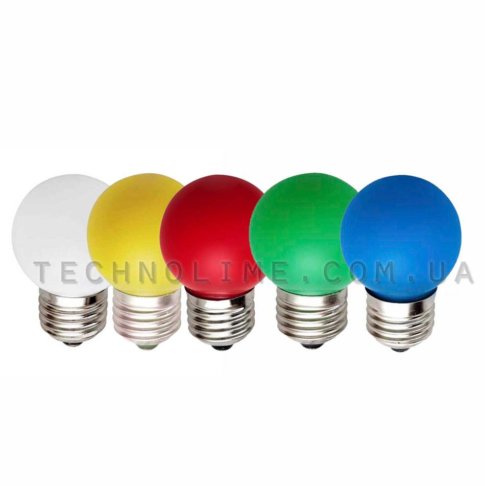 Лампа cветодиодная E-27 BULB (1 Вт)