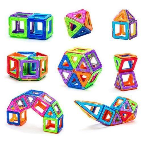 Магнитный конструктор, 20 предметов (магнитные блоки)