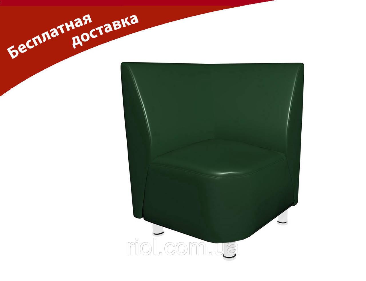 Кресло-угол зеленый