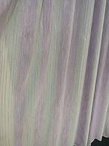 Тюль Полоса Шабле, Сирень (3м шириной), фото 2