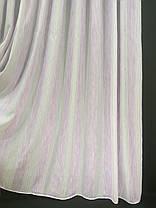 Тюль Полоса Шабле, Сирень (3м шириной), фото 3