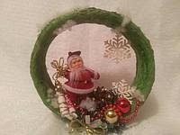 Дед Мороз на круге