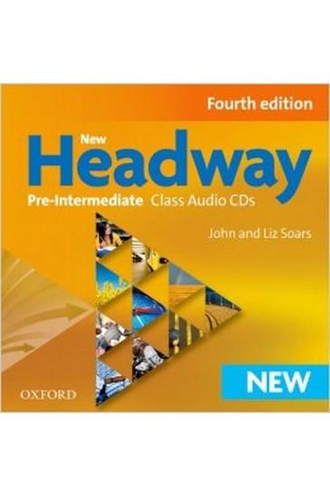 New Headway, 4th Ed Pre-Int Class Audio CDs (3)