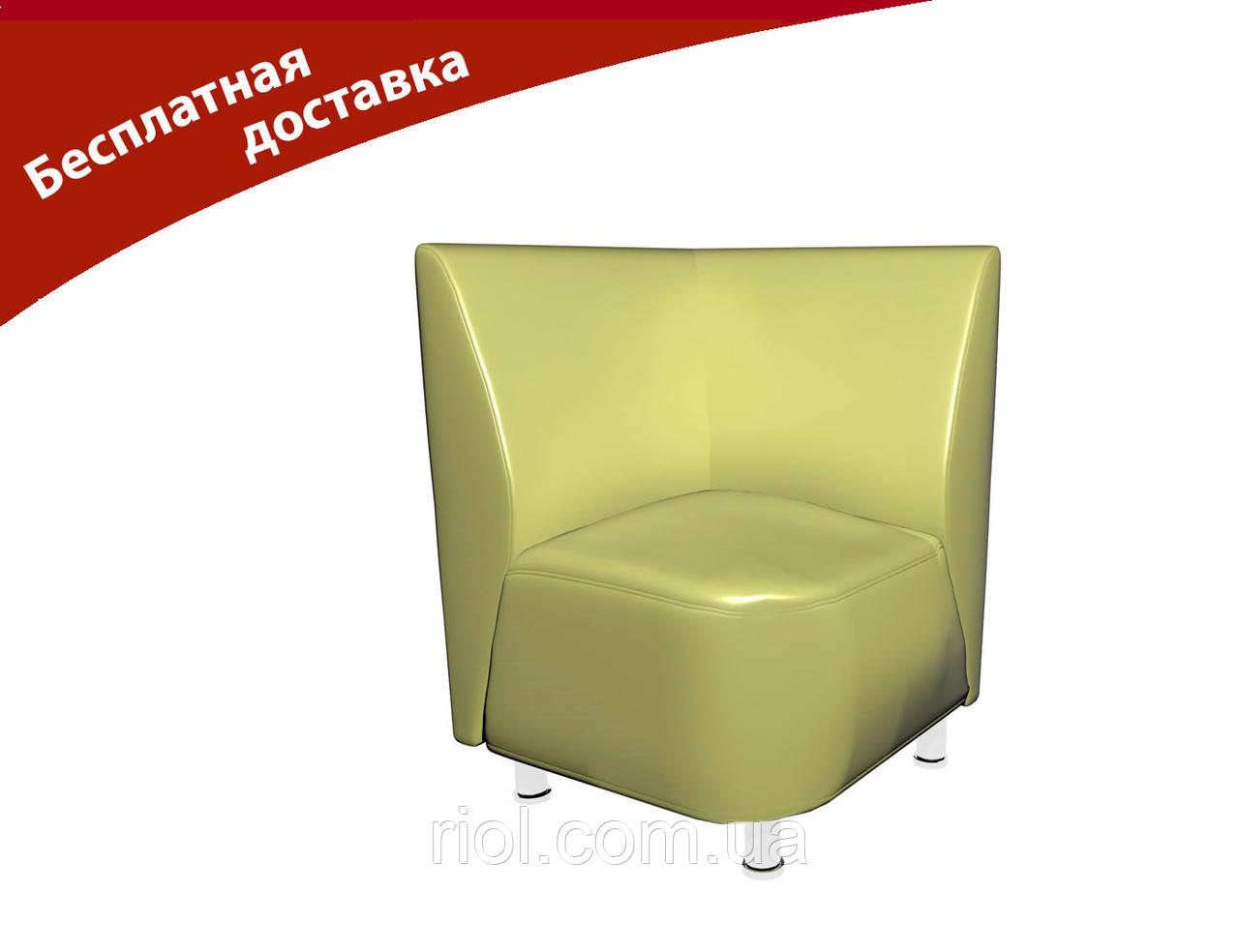 Кресло-угол светло-зеленый