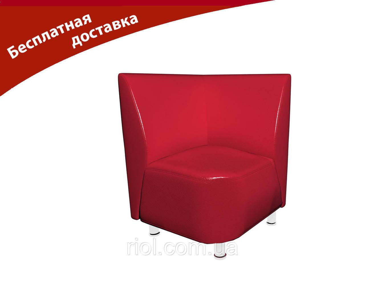 Кресло-угол красный