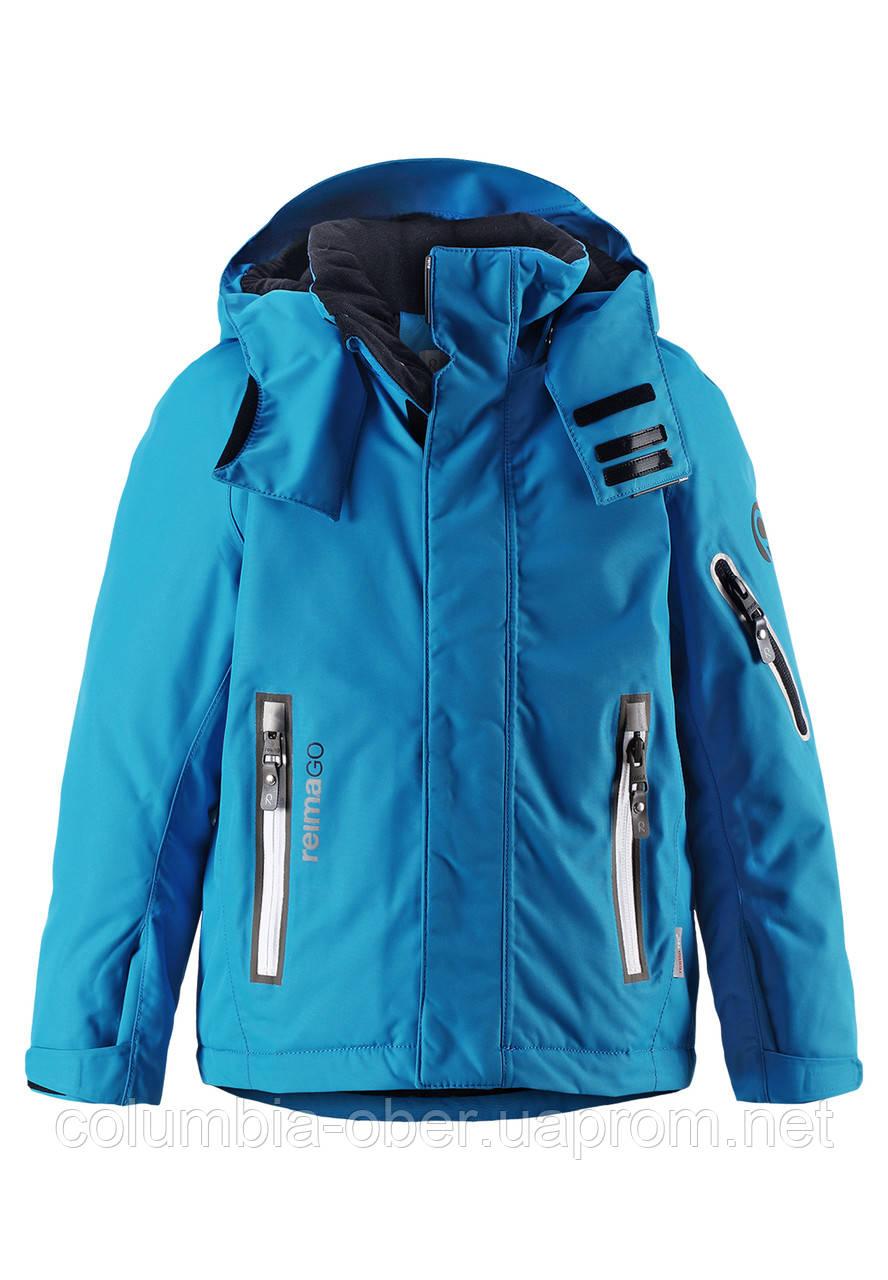 Зимняя куртка для мальчиков ReimaТес 521521A-6490. Размеры 104 - 140.