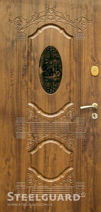 Вхідні двері Стілгард Steelguard серія Resiste Sangria, фото 2